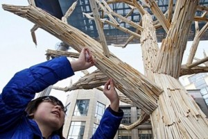 Greenpeace China - Chopstick Forest 4