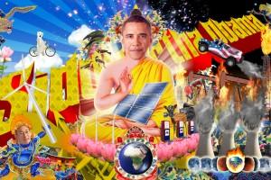 Kenneth Tin-Kin Hung - Siddartha Obama Billboard