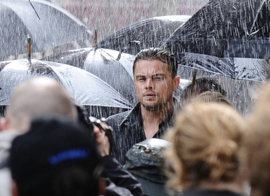 Leonardo DiCaprio filming OPPO Mobile adverts