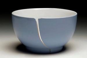 cracked china